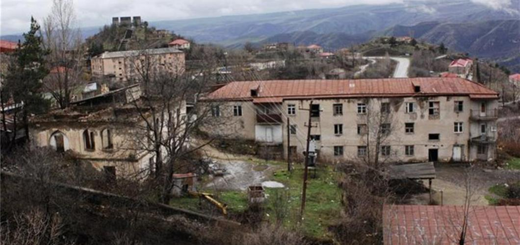 Zengilan, Azerbaijan. Currently under Armenian occupation