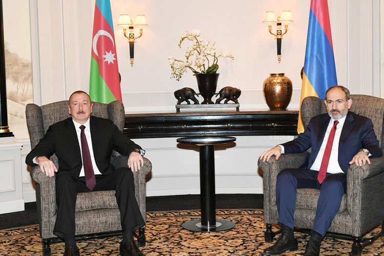Azerbaijani President and Armenian PM held a brief meeting in Brussels