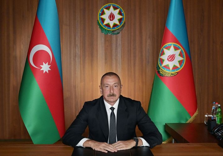 President: The aggressive rhetoric and provocations of Armenia show that Armenia is preparing for a new aggression against Azerbaijan