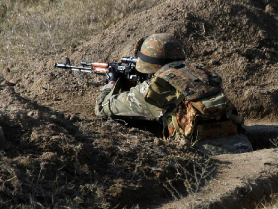 Azerbaijan`s Defense Ministry: Armenian armed units violated ceasefire 37 times