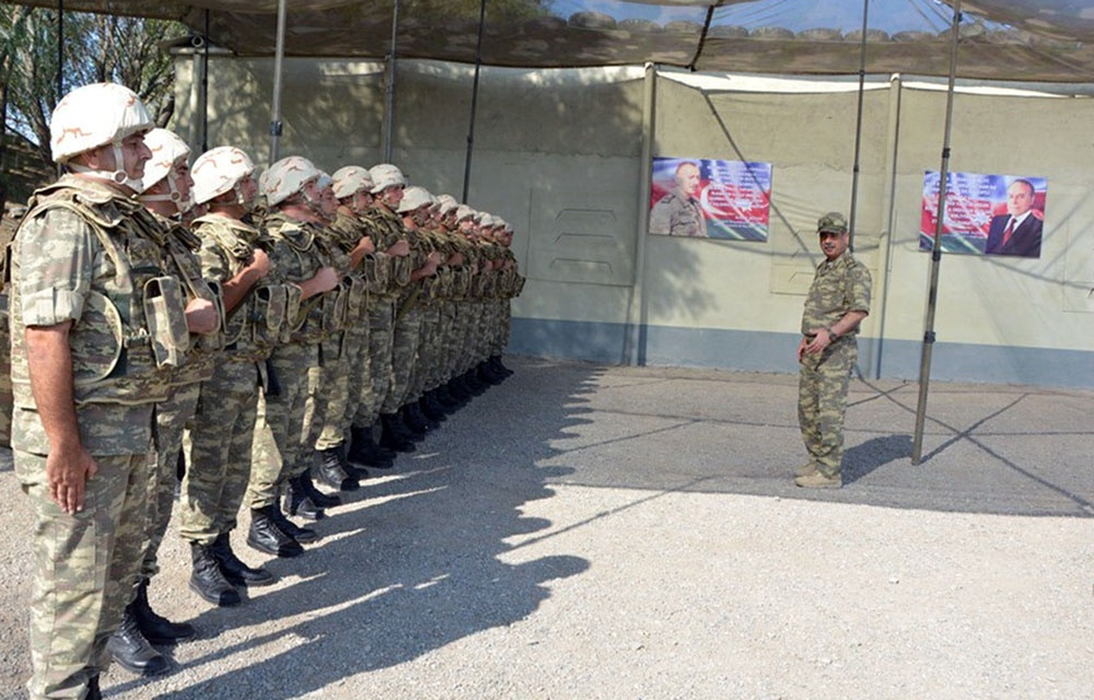 Azerbaijan Defense Minister visited foremost military units