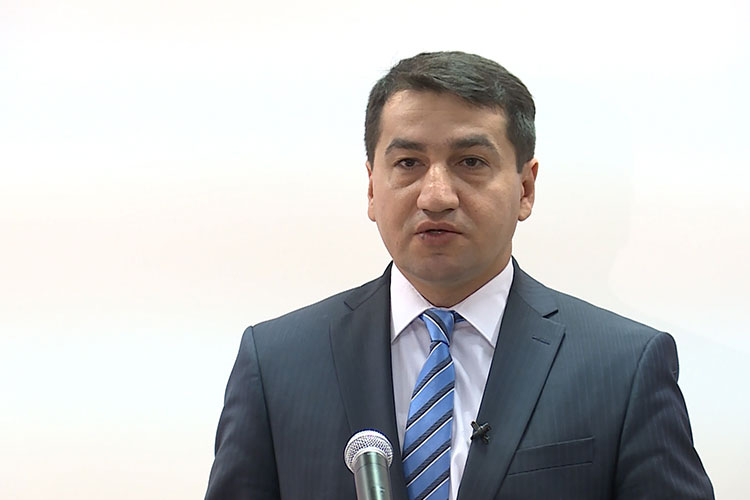 Hikmat Hajiyev: Armenia's illegal settlement policy across Azerbaijan's occupied territories is a military crime