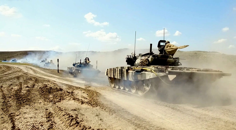 Operational exercises started at the Azerbaijan Army level