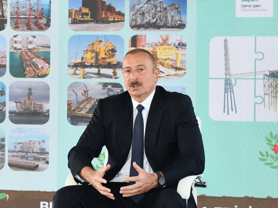 President Ilham Aliyev: If the Armenians do not give up their ugly plans, they will face very serious consequences