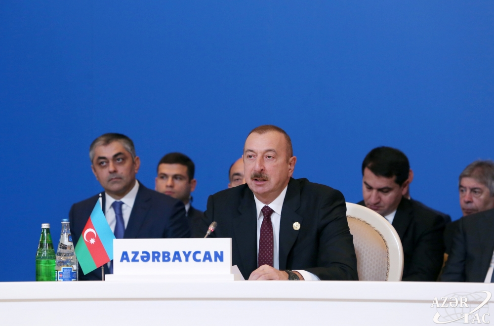 President Ilham Aliyev: Having destroyed mosques sacred to Muslims, Armenia cannot be a friend of Muslim countries