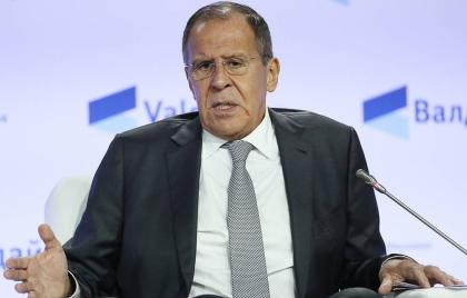 Lavrov: Political process on Karabakh conflict's settlement slowed down