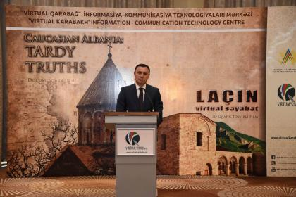 "The documentary ""Caucasian Albania: Tardy Truths"" and the 3D graphic film ""Lachin- a Virtual Visit"" presented"