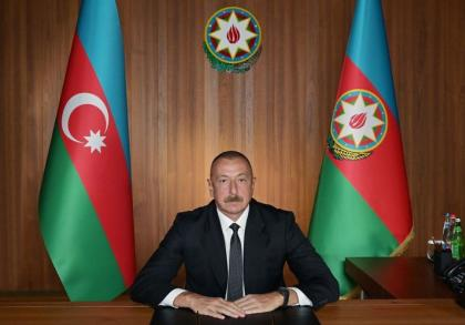 Azerbaijani President: The glorification of Nazism is the state policy in Armenia