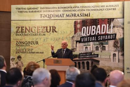 "Presentation of the ""Zangezur"" and ""Gubadli"" 3D documentary films"