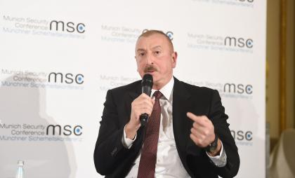 President Ilham Aliyev: OSCE Minsk Group co-chairs should at last very clearly explain to Armenian side that Nagorno-Karabakh is not Armenia, Nagorno-Karabakh is not an independent country!