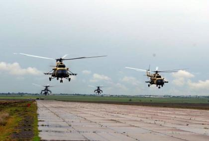 """Azerbaijan's military helicopters fly to Turkey to participate in """"Anatolian Phoenix-2019"""" exercises"""