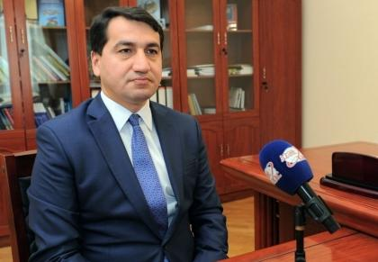 """Hikmat Hajiyev: Political leaders of some countries make distorted statements on the so-called """"Armenian genocide"""""""