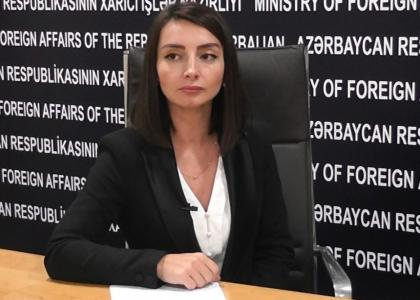 Azerbaijan's Foreign Ministry: Armenian defense minister`s statement on Karabakh conflict is a product of sick imagination