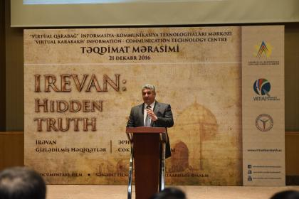 Baku hosts presentation of 'Iravan: hidden truths' documentary film