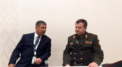 Ministers of Defense of Azerbaijan and Belarus held a meeting