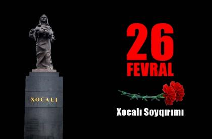 Plan of events on 28th anniversary of Khojaly genocide approved