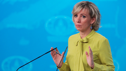 "Maria Zakharova: ""Exchange of deteinees is always on the agenda of Nagorno-Karabakh negotiations"""