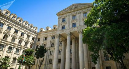 Azerbaijani MFA comments on the information regarding resettlement of Lebanese of Armenian origin to occupied territories