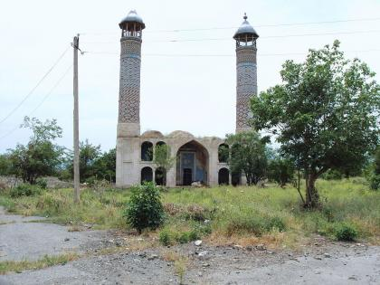 Call for prayer sounded in mosque of Aghdam liberated from Armenian occupation
