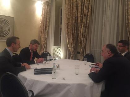 Mammadyarov meets with Foreign and Security Policy Adviser to German Federal Chancellor