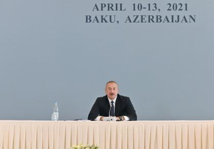 A lot of questions about post-conflict development remain - Azerbaijani president