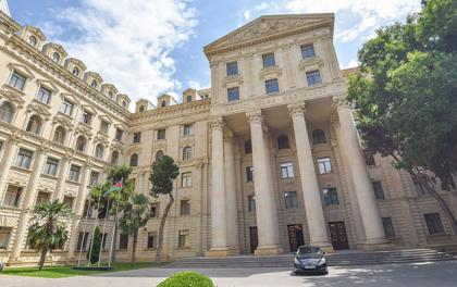 "MFA: Azerbaijan welcomes French court decision to cancel illegal ""agreement"""
