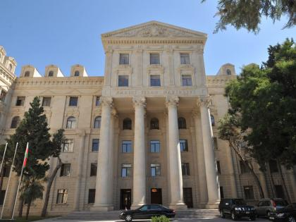MFA: Armenia should stop its unsuccessful attempts to mislead int'l community