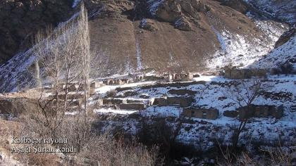 Azerbaijan shows liberated Ashaghy Shurtan village of Kalbajar