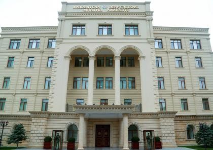 STATEMENT by the Ministry of Defense of Azerbaijan