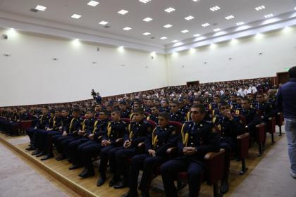 "The documentary film ""Irevan - Hidden Truths"", produced by Virtual Garabagh ICT Center, presented at the Armed Forces Training and Education Centre"