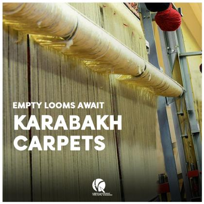 Empty Looms Await Karabakh Carpets