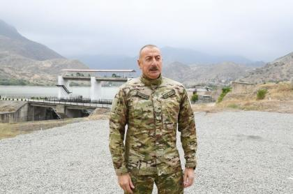 President Ilham Aliyev to revanchists in Armenia: If there are further provocation, statements or actions against us, we will crush your head without looking at anyone