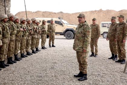 Defense Minister visited foremost military units