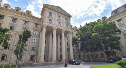 Foreign Ministry: Hopefully acting prime minister of Armenia realizes that his statement at the Paris Peace Forum deeply contradicts the foreign policy of the Republic of Armenia