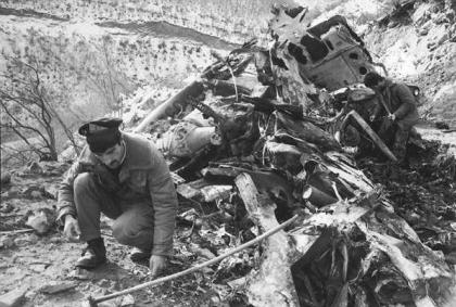 28 years pass since Armenia shot down MI-8 helicopter on the sky of Garakend