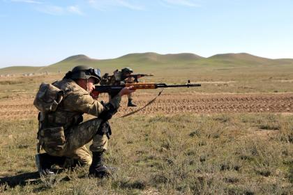 Military units of the armed forces of Armenia violated ceasefire 24 times throughout the day, using large-caliber machine guns.