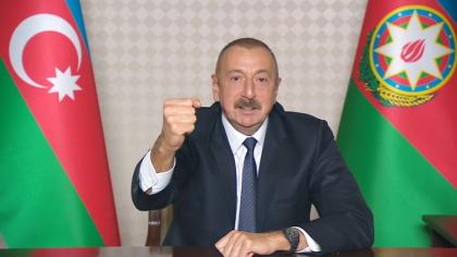With liberation of Aghband settlement, taking full control over Azerbaijani-Iranian state border ensured - President Ilham Aliyev
