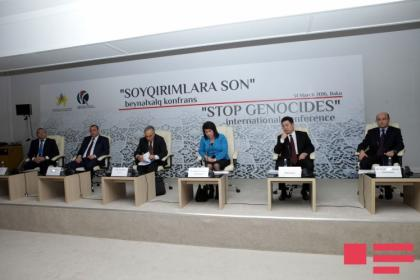 ''End the Genocide'' international conference held in Baku