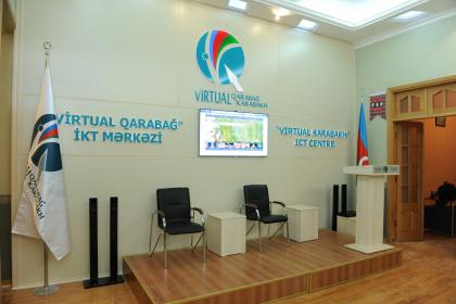 "There was an opening of the office of ""Virtual Karabakh"" Information - Communication Technology Centre"
