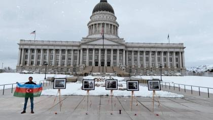 Exhibition dedicated to 29th anniversary of Khojaly genocide opens in US state of Utah
