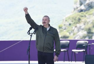 For all these years, we lived with one goal – to liberate our lands, says Azerbaijani president