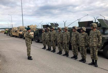 "Azerbaijani servicemen participate in ""Saber Junction-19"" exercises"